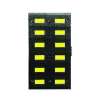 Safety Rider V Rubber Mini Speed Hump