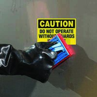 ToughWash® Labels - Caution Do Not Operate Without Guards