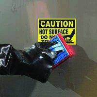 ToughWash® Labels - Caution Hot Surface Do No Touch