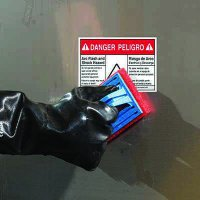 ToughWash® Labels - Danger Arc Flash (Bilingual)