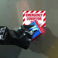 ToughWash® Labels - Emergency Conveyor Stop