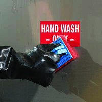 ToughWash® Labels - Hand Wash Only