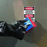 ToughWash® Labels - Starts Stops Automatically (Bilingual)