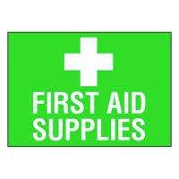 Ultra-Stick Signs - First Aid Supplies