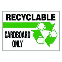 Ultra-Stick Signs - Recyclable Cardboard Only