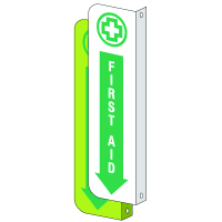 2-Way View First Aid Sign - First Aid