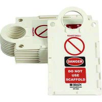 Danger - Do Not Use Scaffold White Tag