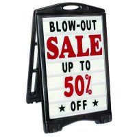 A-Plus Rolling Sandwich Board Signs