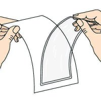 Adhesive-Backed Open Pocket Holders