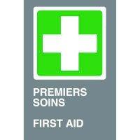 Bilingual CSA Signs - Premiers Soins First Aid