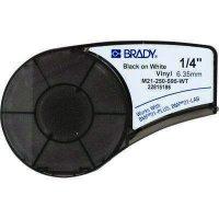 Brady M21-250-595-WT BMP21 Plus Label Cartridge - Black on White
