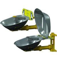 Bradley Halo® Wall-Mount Stainless Steel Eye Wash Station