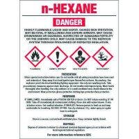 Chemical GHS Labels - N-Hexane