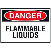 Chemical Labels - Flammable Liquids