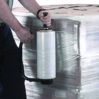 Clear Pallet Stretch Film Wrap (Dispenser Not Included)