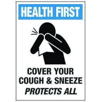 Cover Your Cough & Sneeze Protects All Label