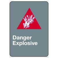 CSA Safety Sign - Danger Explosive