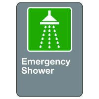CSA Safety Sign - Emergency Shower