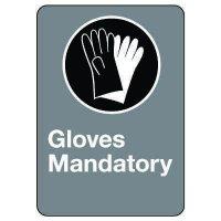 CSA Safety Sign - Gloves Mandatory