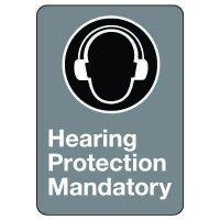 CSA Safety Sign - Hearing Protection Mandatory
