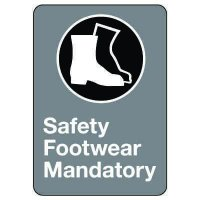 CSA Safety Sign - Safety Footwear Mandatory