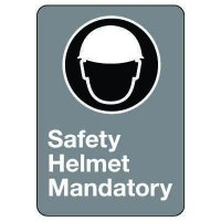 CSA Safety Sign - Safety Helmet Mandatory