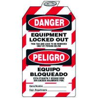 Danger Equipment Lock-Out - Bilingual Tag