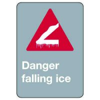 CSA Signs - Danger Falling Ice