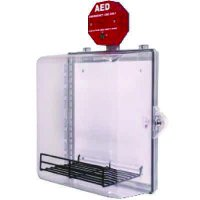 Enclosed Defibrillator AED Cabinet With Alarm