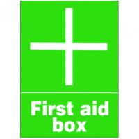 First Aid Signs - First Aid Box