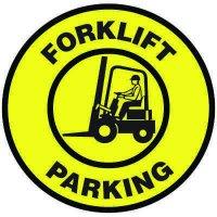 Floor Signs - Forklift Parking