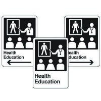 Health Care Facility Wayfinding Signs - Health Education