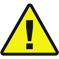 International Symbols Labels - Danger