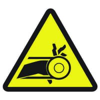 International Symbols Labels - Belt Drive Entrapment Hazard