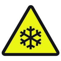 International Symbols Labels - Low Temperature Hazard