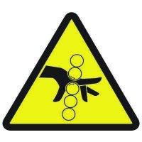 International Symbols Labels - Pinch Point Hazard
