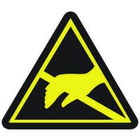 International Symbols Labels - Static Sensitive Hazard