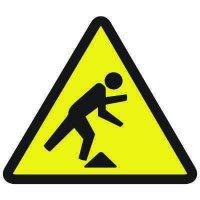 International Symbols Labels - Tripping Hazard