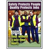 Motivational Safety Scoreboards - Safety Protects People