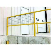 Optional Wire Mesh for Safety Handrails