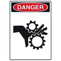 Pictogram Signs - Pinch Point