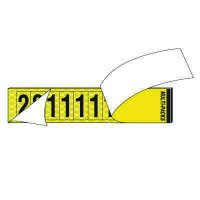 Reflective Yellow Letter & Number Combo Packs