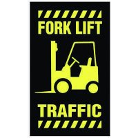 Safety Message Mat - Forklift Traffic
