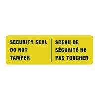 Security Seals - Do Not Tamper