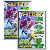 Stock Scoreboards - Safety Is A Team Sport