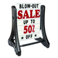 Swinger Plus Rolling Sidewalk Signs