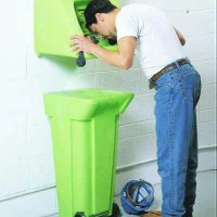 Waste Water Disposal Cart