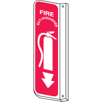 Fire Extinguisher 2-Way View Fire Safety Signs