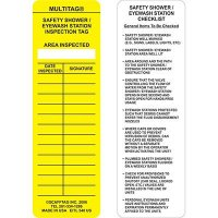 Safety Shower Multitag Insert