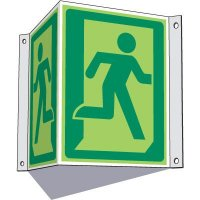 3-Way Running Man Sign